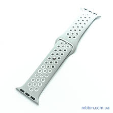 Ремешок Apple Watch 38/40mm Nike grey/white, фото 2