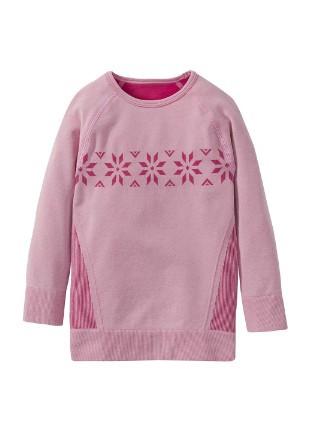 Термореглан для девочки розовый IAN305146 Lupilu р.122/128