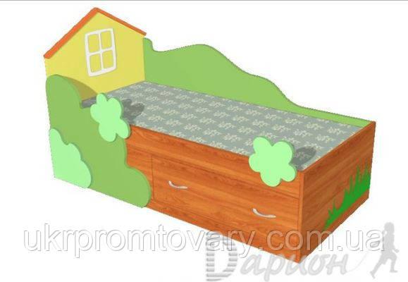Дитяче ліжко трансформер Будиночок в Києві, натуральне дерево, якість, фото 2