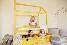Дитяче ліжко-будиночок Дрима Бокс в Києві, натуральне дерево, якість, фото 2