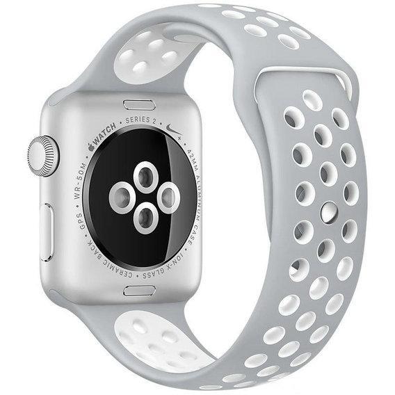 Ремешок Apple Watch 38/40mm Nike grey/white