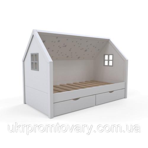 Детская кровать - домик «Little home 2.1» в Киеве, натуральное дерево, качество