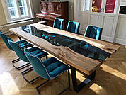 Мебель из эпоксидной смолы: дизайнерские решения