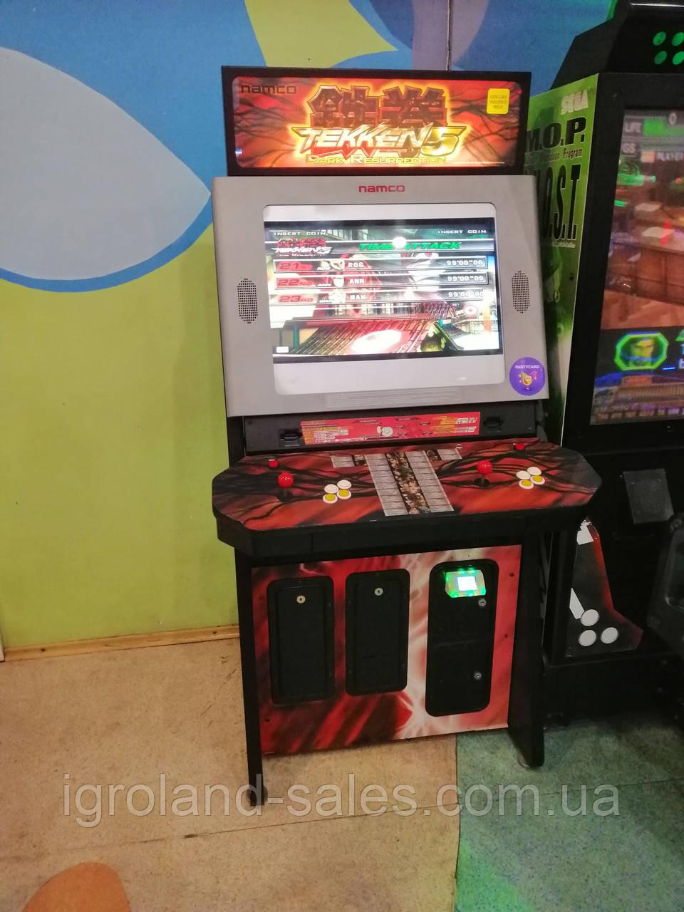 Tekken игровой автомат поиграть в i игровой автомат