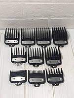 Набор насадок Premium для машинок Wahl 10 штук от 1,5 мм до 25 мм