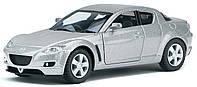 Автомодель Металлическая 1:36 Mazda RX-8 КТ5071W Kinsmart