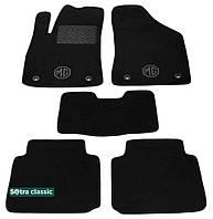 Двухслойные коврики Sotra Classic 7mm Black для MG / Roewe 350 2011→ (ST 07433-GD-Black)