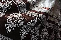 Блекаут  узор коричневый