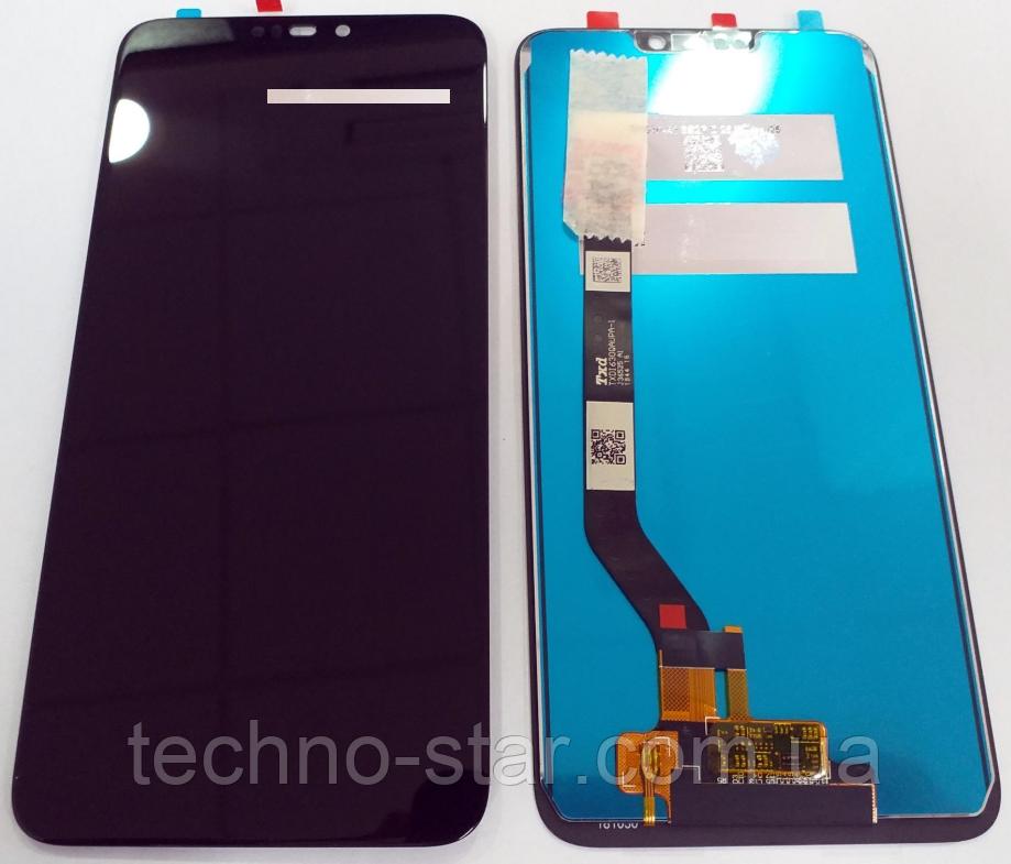 Оригинальный дисплей (модуль) + тачскрин (сенсор) для Asus Zenfone Max (M2) ZB633KL (черный цвет)