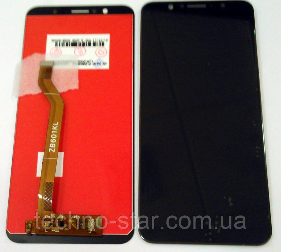 Оригинальный дисплей (модуль) + тачскрин (сенсор) для Asus Zenfone Max Pro (M1) ZB601KL (черный цвет)