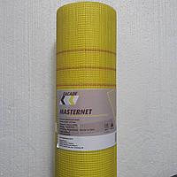 Фасадная щелочестойкая стекловолоконная сетка MASTERNET FASADE 145г/м² желтая (45м)
