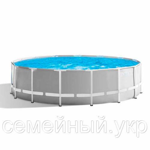 Каркасный бассейн. Диаметр 366. Высота 76 см.  26710 intex