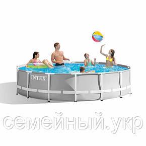 Каркасный бассейн. Диаметр 366. Высота 76 см.  26710 intex, фото 2