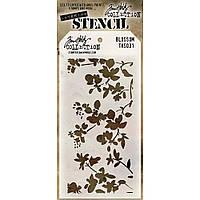 Трафарет - Blossom - Tim Holtz Layered Stencil
