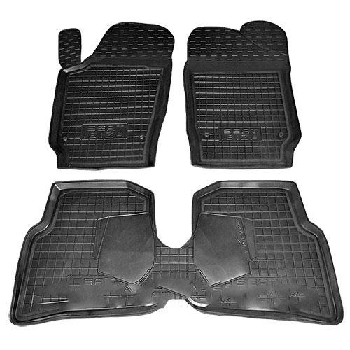 Коврики в салон для Seat Ibiza 2008 -> черный, кт - 4шт 11441 Avto-Gumm