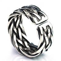 """Кольцо из серебра 925 пробы """"Infinity effect"""""""