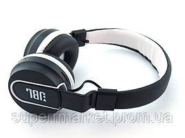 JBL AZ-01 Wireless Headset Extra Bass копия, Bluetooth наушники с FM MP3, черные с белым, фото 2