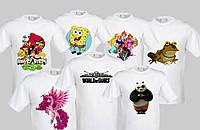Печать фотографий на футболках. Футболка или толстовка со своим рисунком (надписью)