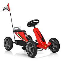 Карт детский 8931E-3 колеса Eva Красный Гарантия качества Быстрая доставка