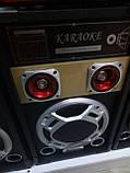 Акустична система Ailiang 198E , потужна система, блютуз, караоке, FM, фото 3