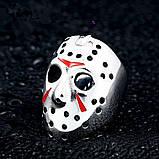 Уникальный мужской перстень с шлемом Джейсона, фото 4