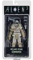 Фигурка солдата Вейланд-Ютани, 18 см - Weyland Yutani Commando, Alien 3, Series 8, Neca - 143284