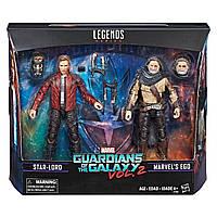Фигурки Звездный Лорд и Эго Стражи Галaктики 2 -Star-Lord,Ego,Guardians of the Galaxy2,Legends,Hasbro - 143268