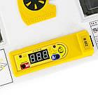 Інкубатор автоматичний Теплуша Люкс 72 ІБ (Ламповий, вентилятор і вологомір), фото 6