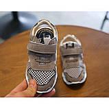 Босоніжки дитячі MG сірі Розмір: 21, фото 3