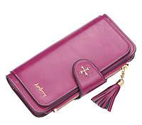 Жіночий гаманець BAELLERRY New Clover Long клатч Фіолетовий (SUN4134)