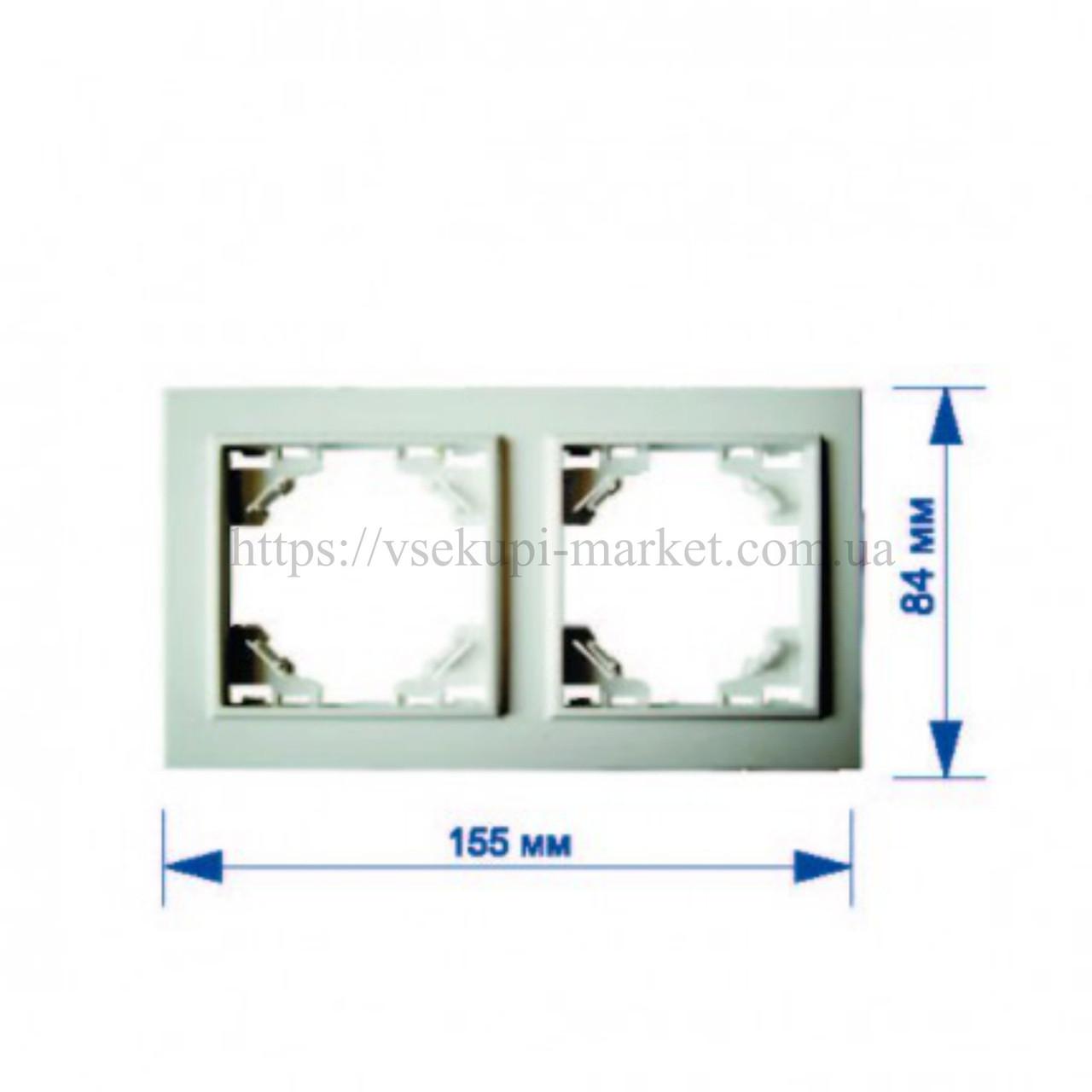 Двойная рамка RIGHT HAUSEN KIRA HN-016141