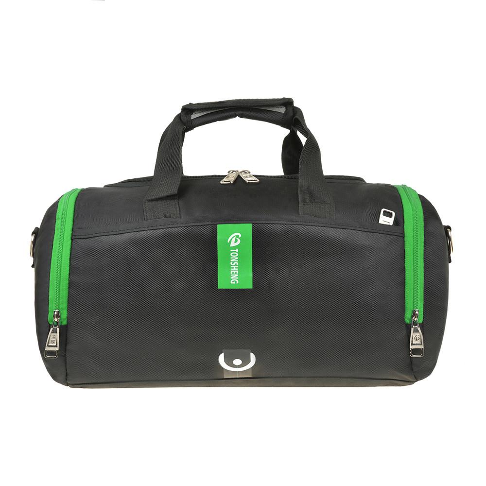 Дорожно-спортивная сумка нейлон з ПВХ 40х24х20 TONSHENG  кс99219ч сал