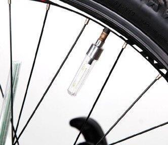 Многоцветные, светящиеся колпачки на ниппель на велосипед