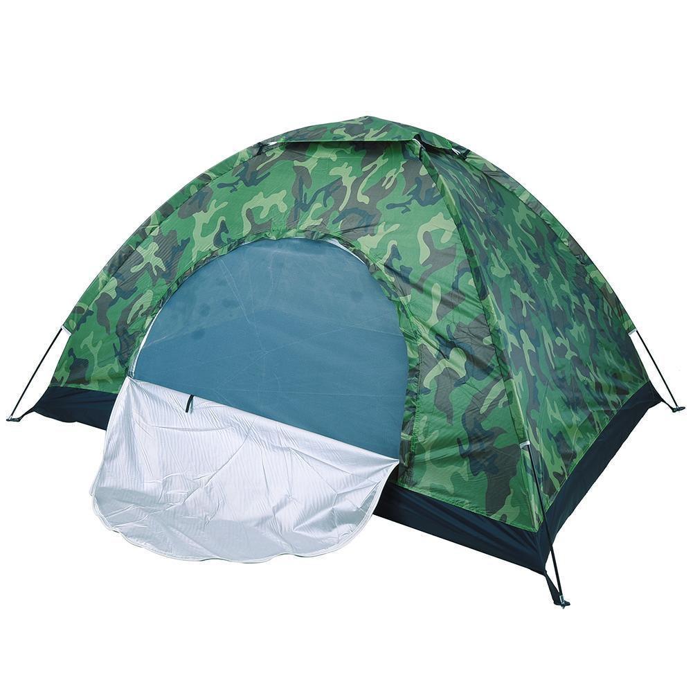 Камуфляжная палатка трансформер, Kaida туристическая трех местная 200x200x150 см