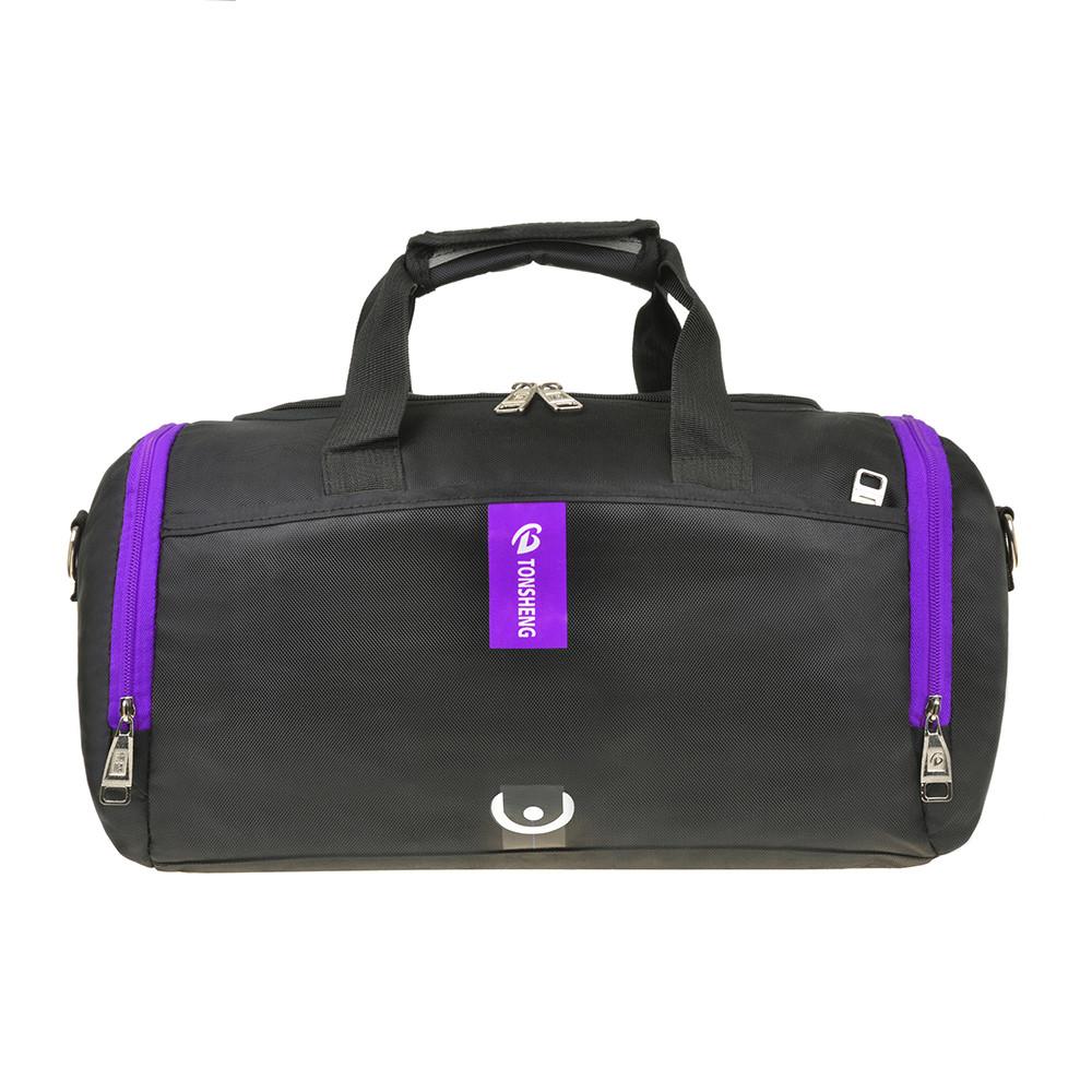 Дорожньо-спортивна сумка 40х24х20 нейлон з ПВХ TONSHENG кс99219ч ф