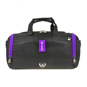 Дорожньо-спортивна сумка 40х24х20 нейлон з ПВХ TONSHENG кс99219ч ф, фото 2