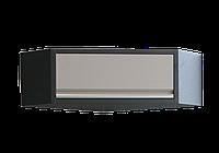 Навесной шкаф угловой серый 865 x 865 x 350KING TONY