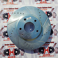 Диск тормозной передний POWERSTOP JBR1596XPR для Mazda 6, фото 1