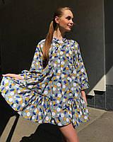 Платье-бант Mbocharova, серое - 148540