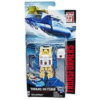 Трансформер Сиспрей, Спасатель, Возвращение Титанов - Seaspray, Titans Return, Legends Class, Hasbro - 143293