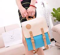 Стильный рюкзак. Женский рюкзак. Современный рюкзак. Качественный рюкзак. Код:КРСК123, фото 1