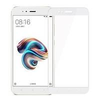 Захисне скло Walker Full Glue для Xiaomi Mi A1 / Xiaomi Mi 5X Білий