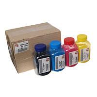 Набор тонера АНК 85г Black (Черный), Cyan (Синий), Magenta (Красный), Yellow (Желтый) 150319