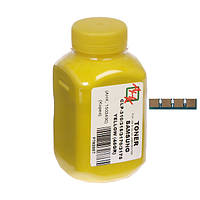 Тонер и Чип АНК 45г Yellow (Желтый) 1502408