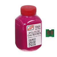 Тонер и Чип АНК 60г Magenta (Красный) 1505159