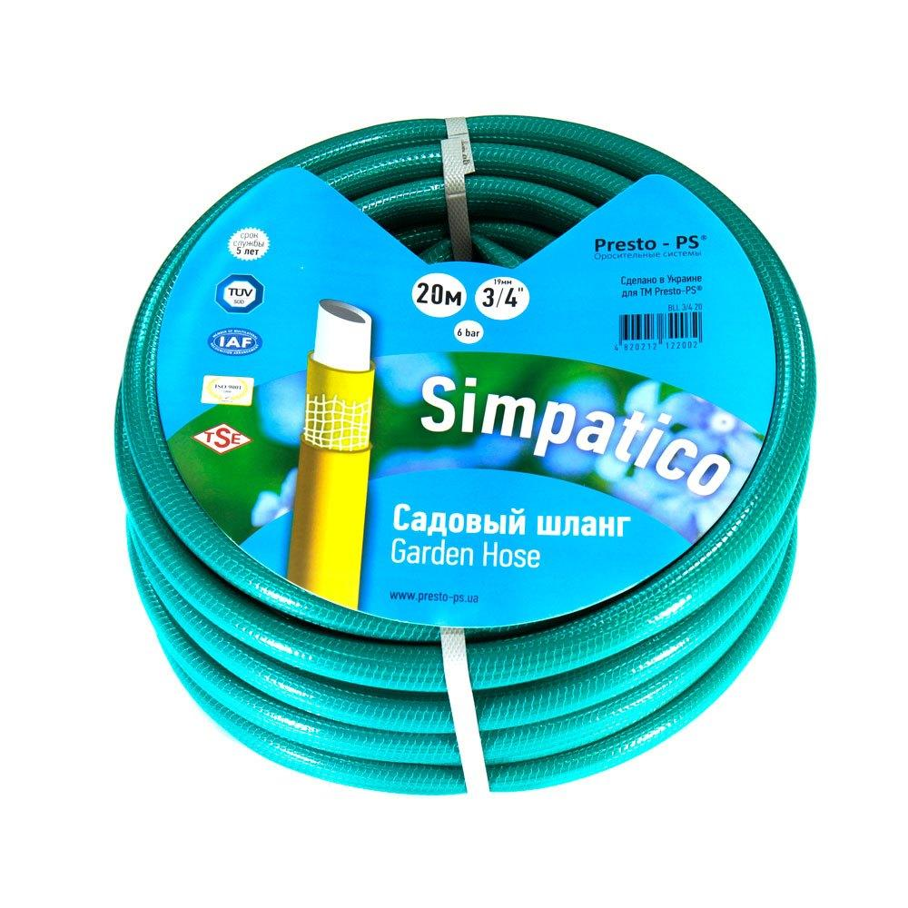 Шланг для полива Evci Plastik Bella Classik (Simpatico синий) садовый диаметр 3/4 дюйма, длина 30 м