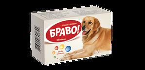 Вітаміни Браво для собак великих порід 100 табл