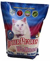 Litter Pearls ВЕЛЛНЕС (Wellness) кварцевый наполнитель для туалетов котов - 1.59 кг