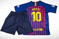 Детская футбольная форма Барселона Месси сезон 18/19 домашняя