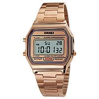 Skmei 1123 popular  розовое золото мужские  часы, фото 1